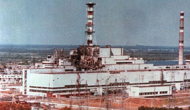 Εικόνα μετά το πυρηνικό δυστύχημα στο Chernobyl