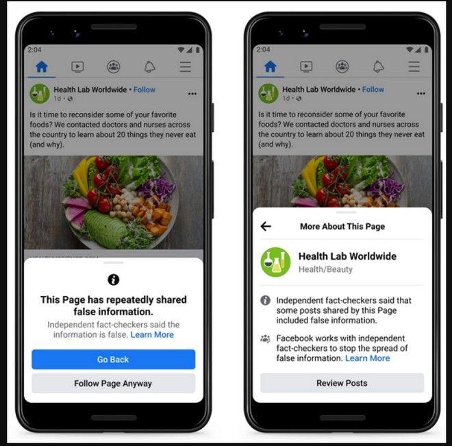 Facebook: Νέες ειδοποιήσεις και κυρώσεις για τη διάδοση fake news - Τι αλλάζει