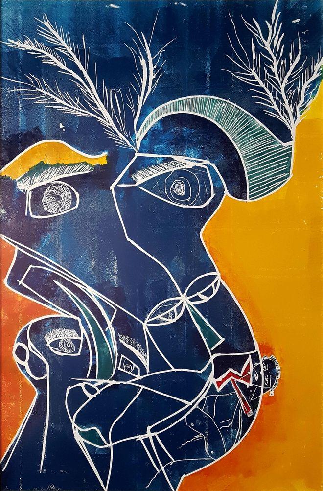 Ο Λάκης Λαζόπουλος ζωγραφίζει: Η πρώτη του έκθεση μαζί με τον Απόστολο Χαντζαρά στην Πάρο