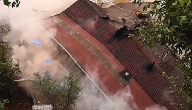 Κωνσταντινούπολη: Κατέρρευσε τετραώροφο κτίριο εξαιτίας σφοδρών βροχοπτώσεων