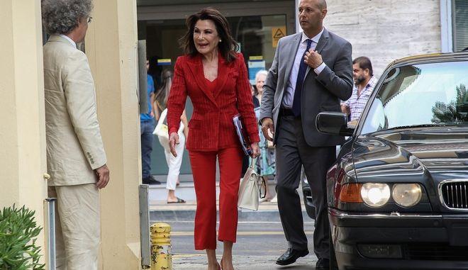 """Επίσκεψη της προέδρου της Επιτροπής """"Ελλάδα 2021"""" Γιάννας Αγγελοπούλου  στο Ηράκλειο Κρήτης"""