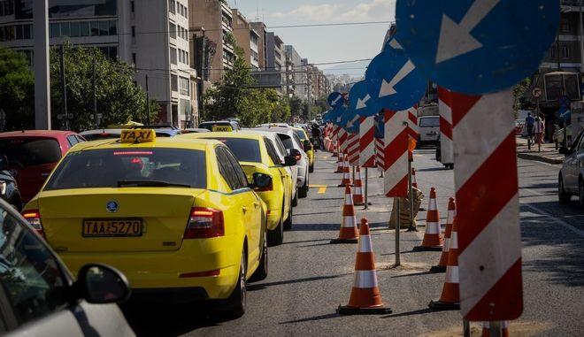 Κυκλοφοριακό χάος στην άνοδο της Λ.Συγγρού