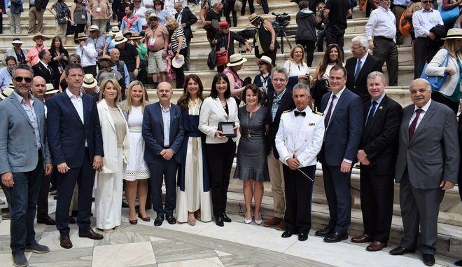 Ξεκίνησε το συνέδριο των Αμερικανών τουριστικών πρακτόρων στην Αθήνα