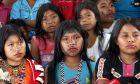Κορίτσια από τη φυλή Nukak Makú