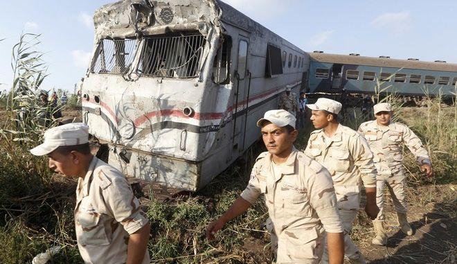 Αίγυπτος: Στους 41 οι νεκροί από τη σύγκρουση των δύο τρένων