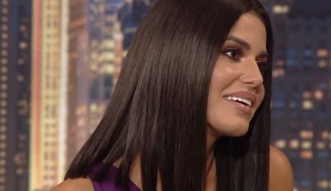 Η Ιωάννα Μπέλλα στην εκπομπή του Γρηγόρη Αρναούτογλου.