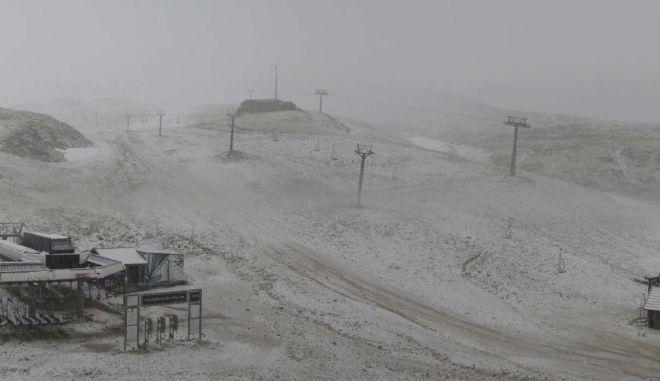 Χιόνια στον Παρνασσό
