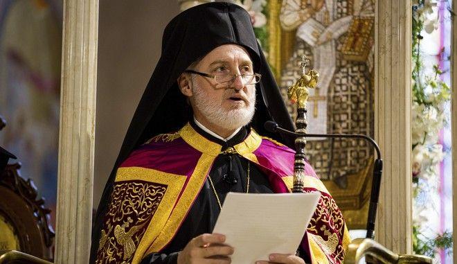 Ο αρχιεπίσκοπος Αμερικής Ελπιδοφόρος στη Νέα Υόρκη