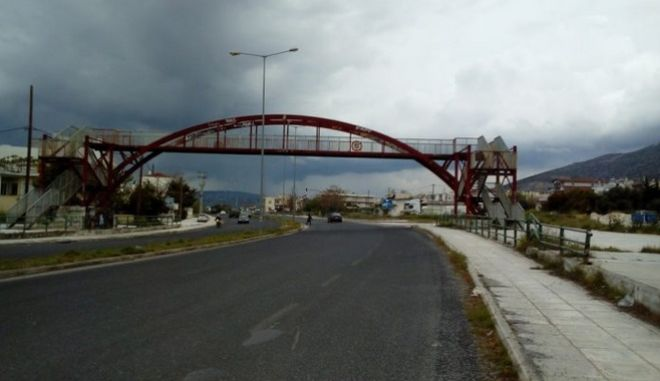 Πεζογέφυρα Ιωλκού