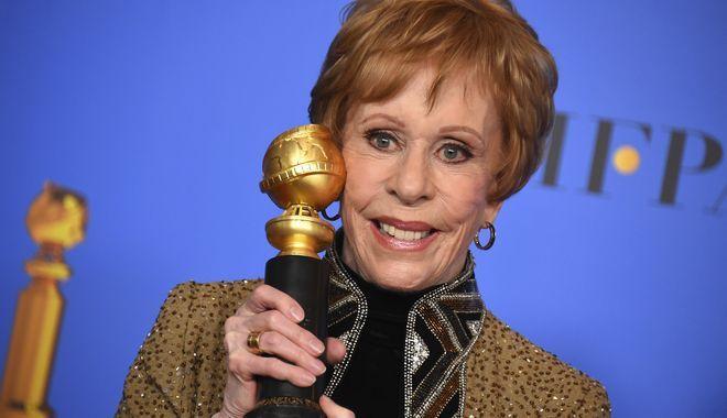 Στο θρύλο της τηλεόρασης Κάρολ Μπερνέτ απονεμήθηκε το πρώτο βραβείο συνολικής προσφοράς στην τηλεόραση που θα φέρει... το όνομά της