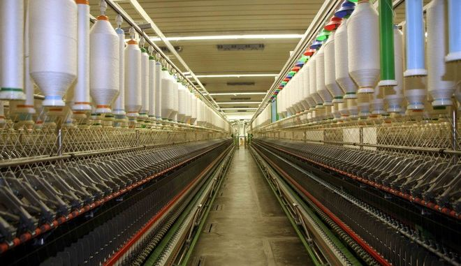 Το εργοστάσιο κλωστοϋφαντουργίας Βαρβαρέσσος στη Νάουσα