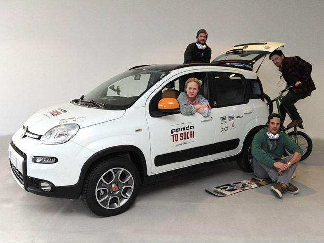 Το Fiat Panda 4x4 Antartica έβαλε...πλώρη για το Sochi