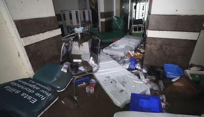 Πλημμύρες στο Μεξικό: Πέθαναν σε νοσοκομείο 17 διασωληνωμένοι