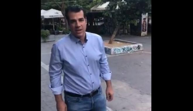 Πλεύρης στον News 24/7 στους 88,6: Κινδυνεύω αν πάω μεσημέρι στην πλατεία Εξαρχείων