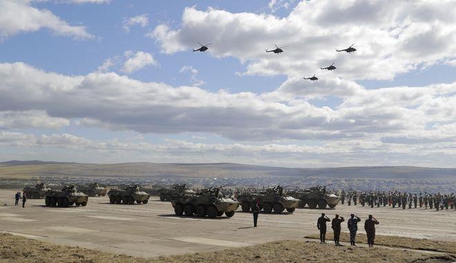 Διεξαγωγή στρατιωτικής άσκησης μεγάλης κλίμακας ανά πενταετία σχεδιάζει η Ρωσία