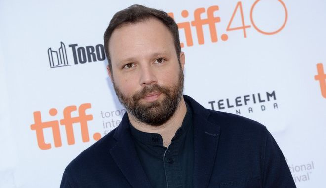 """Yorgos Lanthimos attends a screening for """"The Lobster"""" on day 2 of the Toronto International Film Festival at the Princess of Wales theatre on Friday, Sept. 11, 2015, in Toronto. (Photo by Evan Agostini/Invision/AP)"""