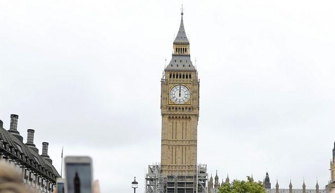 Το Big Ben στην πρωτεύουσα της Βρετανίας, το Λονδίνο