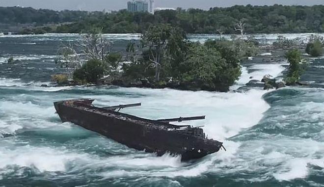 Το πλοίο στους καταρράκτες του Νιαγάρα