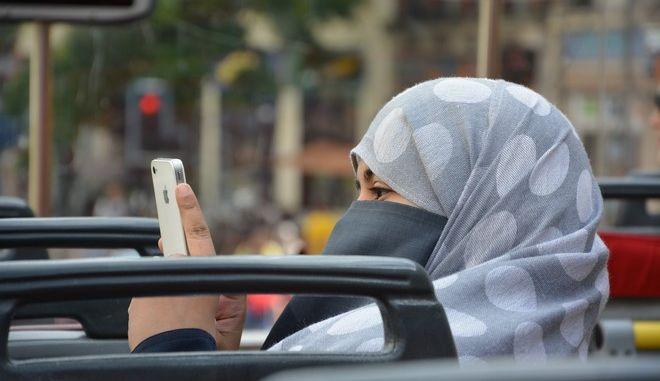 Στιγμιότυπο από την καθημερινή ζωή στη Σ. Αραβία