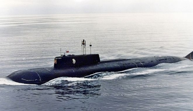 "To σοβιετικό πυρηνικό υποβρύχιο ""Κουρσκ"""