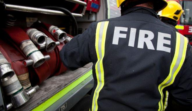 Βρετανοί πυροσβέστες Φωτό Αρχείου