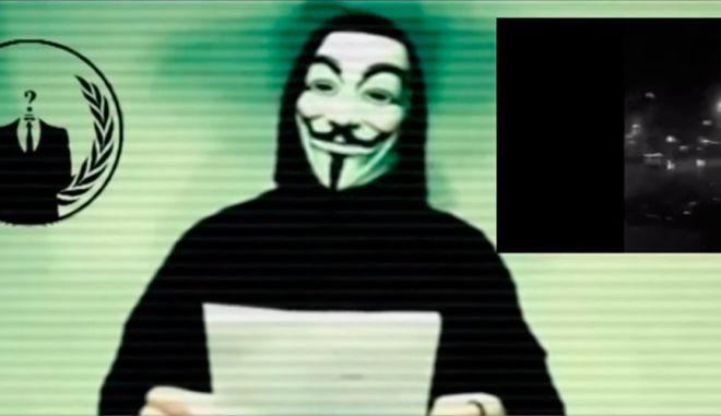 Anonymous: Κηρύσσουν πόλεμο στο ISIS μετά τις επιθέσεις στο Παρίσι