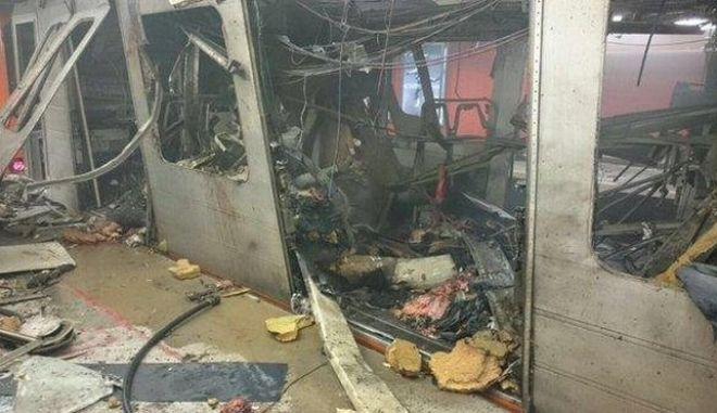 Εκρήξεις με νεκρούς σε δύο σταθμούς του μετρό στις Βρυξέλλες
