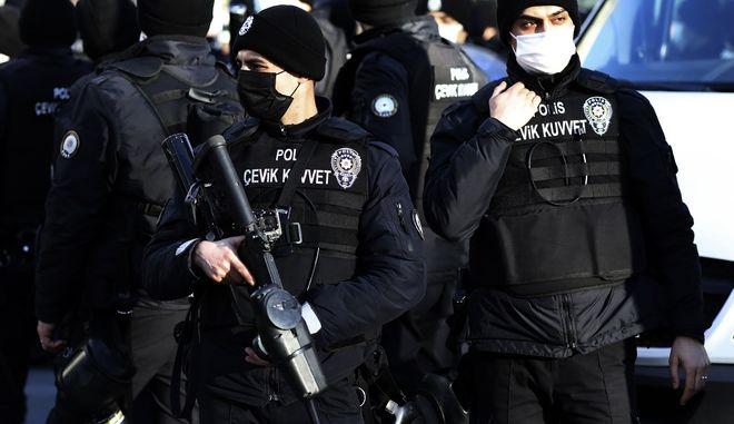 Τούρκοι αστυνομικοί.