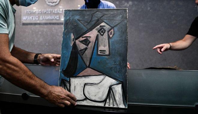 Ο πίνακας του Πικάσο που βρέθηκε 9 χρόνια μετά την κλοπή του