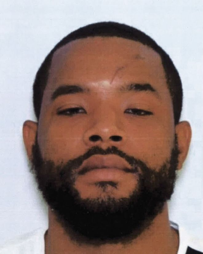 This photo provided by the Maryland State Police shows Radee Labeeb Prince, who police are looking for after they said he opened fire with a handgun at the Emmorton Business Park in the Edgewood area of Harford County, Md., Wednesday, Oct. 18, 2017, and then fled. (Maryland State Police via AP)