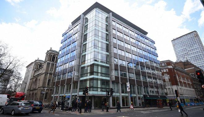 Τα γραφεία της Cambridge Analytica στο Λονδίνο (Kirsty O'Connor/PA via AP)