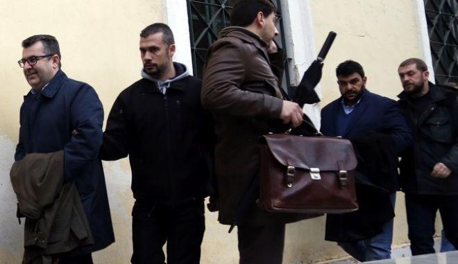 ΑΘΗΝΑ-Στο Αυτόφωρο Μονομελές θα παρουσιαστούν σήμερα για να δικαστούν για το αδίκημα της συκοφαντικής δυσφήμισης ο  εκδότης των΄΄Παραπολιτικών'' Γιάννης Κουρτάκης και ο  Διευθυντής του Ομίλου Παναγιώτης Τζένος.(Eurokinissi-ΣΤΕΛΙΟΣ ΜΙΣΙΝΑΣ)