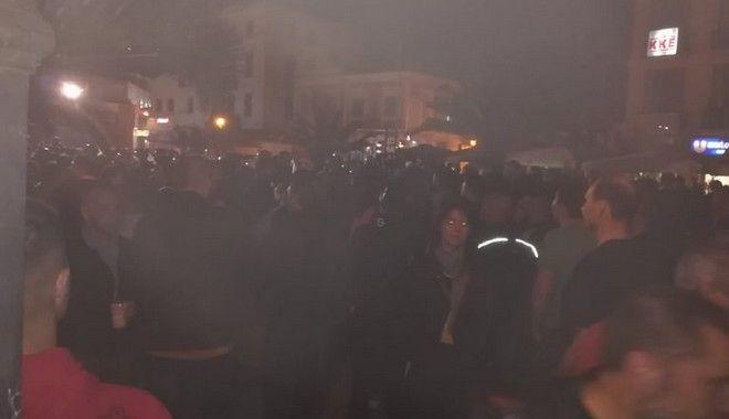 Επεισόδια στην πλατεία Σαπφούς