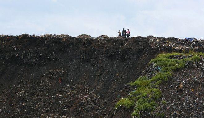 Εικόνα από την πόλη Πέμπα στη Μοζαμβίκη μετά το πέρασμα του κυκλώνα Κένεθ