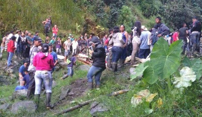 Κολομβία: Λεωφορείο έπεσε σε χαράδρα - 14 νεκροί, 35 τραυματίες
