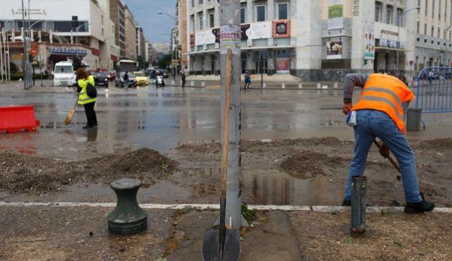 Μεγάλες ζημιές από την καταιγίδα στη Θεσσαλονίκη