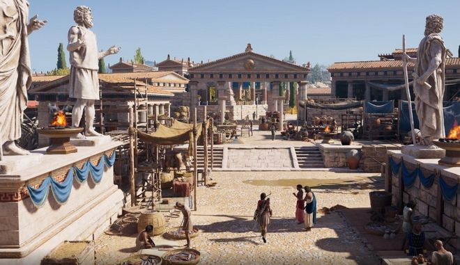 Assassin's Creed Odyssey: Έτσι η Ubisoft ξανάχτισε την αρχαία Αθήνα