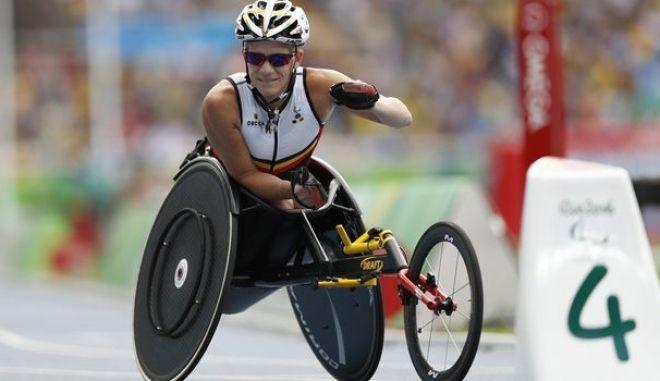 Η Παραολυμπιονίκης Μαρίκε Βέρβουτ