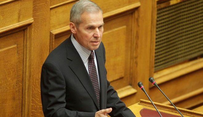 Συζήτηση στην Ολομέλεια της Βουλής  με τα προαπαιτούμενα μέτρα, εν όψει της πρώτης αξιολόγησης του μνημονιακού προγράμματος. (EUROKINISSI/ ΧΡΗΣΤΟΣ ΜΠΟΝΗΣ