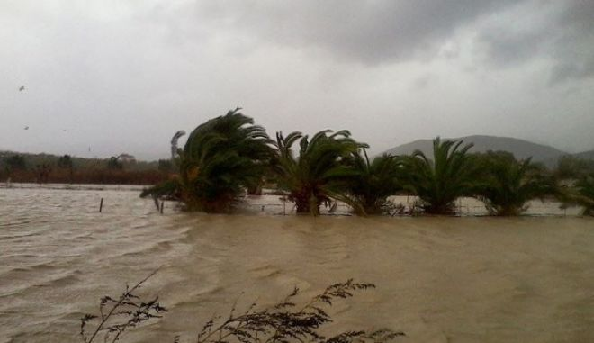 Καταγράφουν τις ζημιές στην Κίσσαμο - Κλιμάκιο του ΕΛΓΑ στις πληγείσες περιοχές