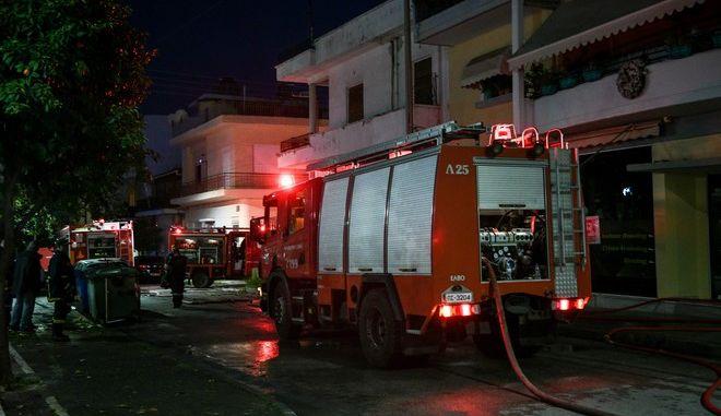 Πυρκαγιά σε κτίριο