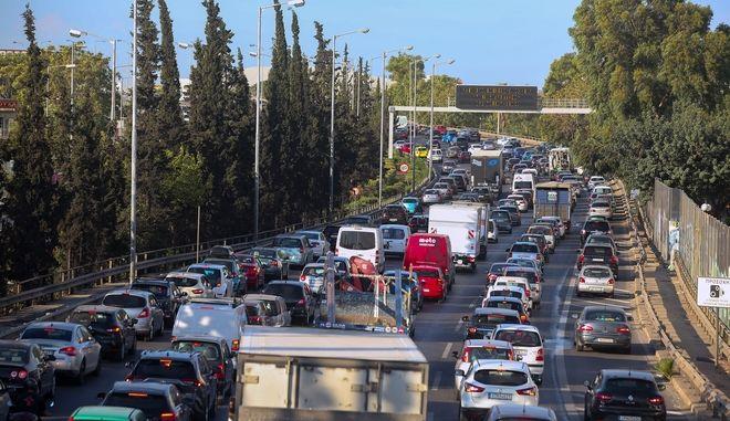 Κίνηση στους δρόμους: Μποτιλιάρισμα σε πολλές περιοχές - LIVE ΧΑΡΤΗΣ