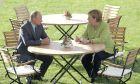 """""""Καλή θέληση"""" από Μέρκελ και Πούτιν για συνεργασία στην επίλυση διεθνών διενέξεων"""