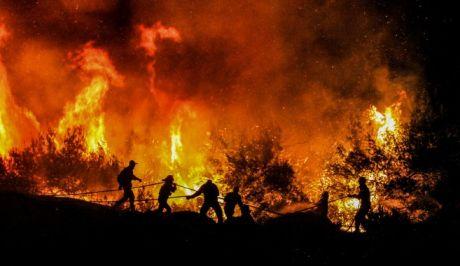 Φωτό αρχείου: Ολονύχτια μάχη με τις φλόγες