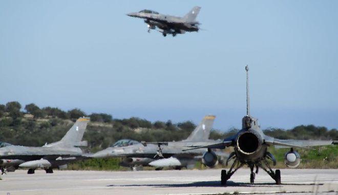 Φωτό αρχείου: Άσκηση με F -16