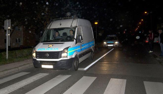 Αστυνομία στο Ζάγκρεμπ