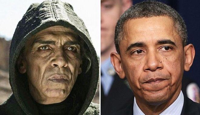 """Ομοιότητα ηθοποιού με τον πρόεδρο Ομπάμα """"κόβει"""" τον ρόλο του από ταινία"""