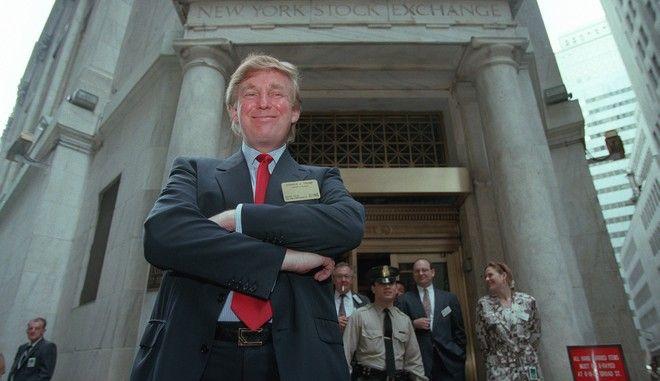 O Donald Trump το 1995