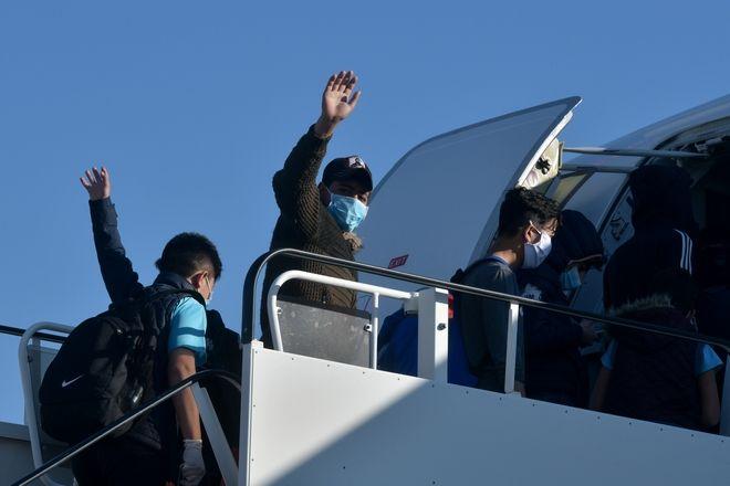 Από την αποχώρηση 50 ασυνόδευτων προσφυγόπουλων με προορισμό τη Γερμανία στις 18 Απριλίου 2020