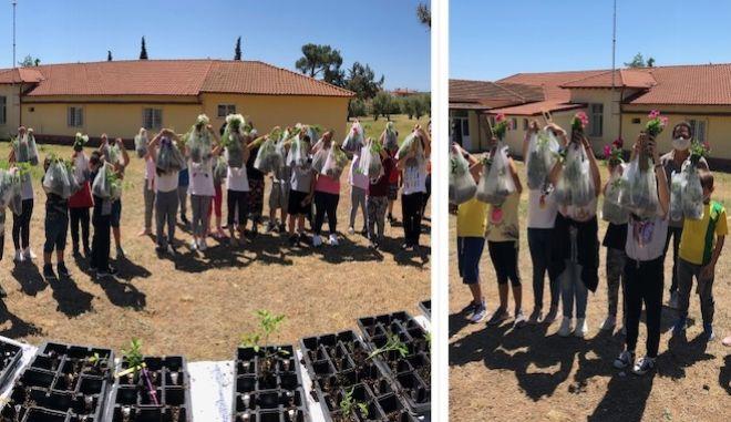 """Γιορτή των """"σπόρων"""" για την επιστροφή των μικρών μαθητών στα θρανία"""